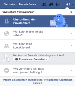 VI_Website_Fallbeispiele_Facebook_FreundschaftsanfrageEinstellung